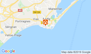 Map Agde Mobile home 117878