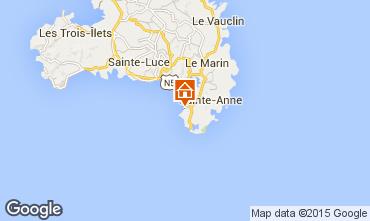 Map Sainte Anne (Martinique) Studio apartment 54186