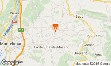 Map Mont�limar Self-catering property 97501