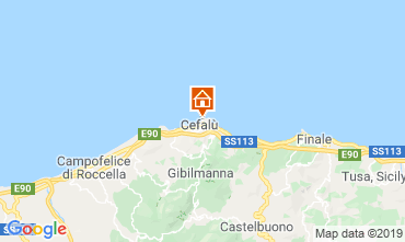 Map Cefalù Apartment 70619