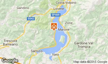 Map Parzanica Apartment 90943