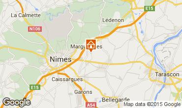 Map Nîmes Villa 75882