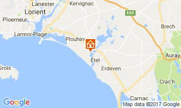 Map Plouhinec (Morbihan) House 110475