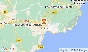 Map Fréjus Mobile home 85790