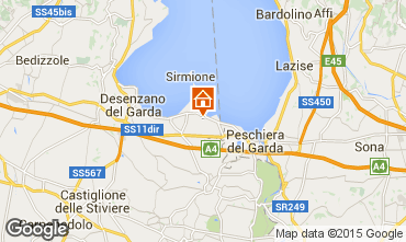 Map Sirmione Apartment 82442