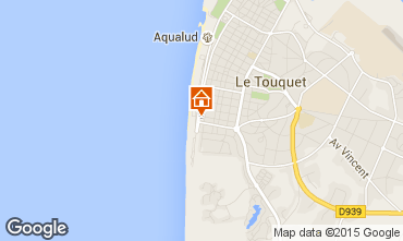 Map Le Touquet Apartment 84476
