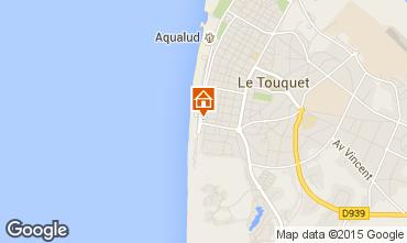 Map Le Touquet Apartment 84476