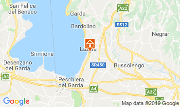 Map Lazise Apartment 42959