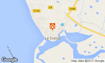 Map Le Crotoy House 21470