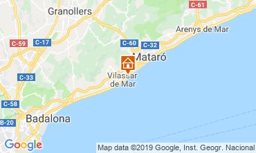 Map Barcelona Apartment 75200