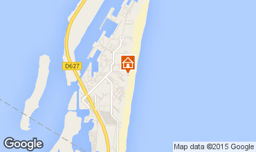 Map Port Leucate Studio apartment 6316