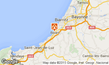 Map Biarritz House 71902