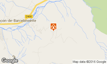 Map Barcelonnette Chalet 102916