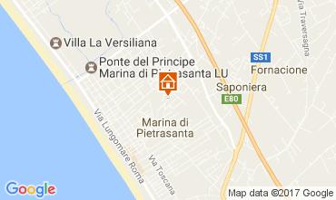 Map Marina di Pietrasanta House 107871