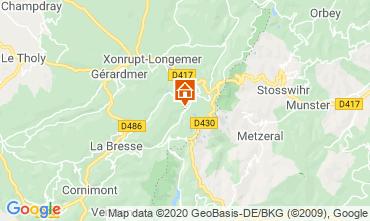 Map La Bresse Hohneck Studio apartment 29084
