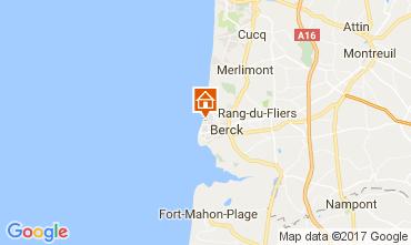 Map Berck-Plage House 107690