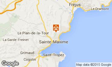 Map Sainte Maxime Apartment 63286
