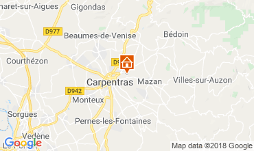 Map Carpentras House 117417
