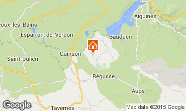 Map Artignosc-sur-Verdon House 65147