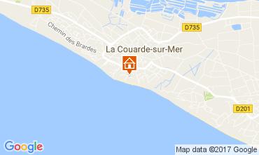 Map La Couarde-sur-Mer Apartment 81402
