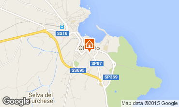 Map Otranto Apartment 101123