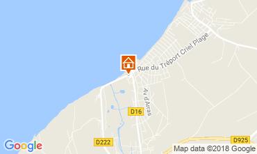 Map Criel-sur-Mer Apartment 115085
