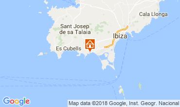 Map Ibiza B&B 113290