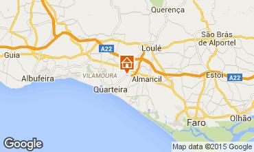Map Quarteira Villa 74660