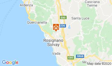 Map Rosignano Marittimo Villa 108856