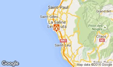 Map La Saline les Bains Villa 102826