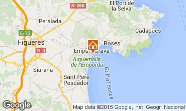 Map Empuriabrava Apartment 56325