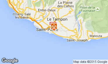Map Saint Pierre (R�union) Villa 102123