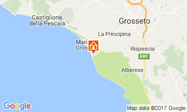 Map Principina a Mare Apartment 108764