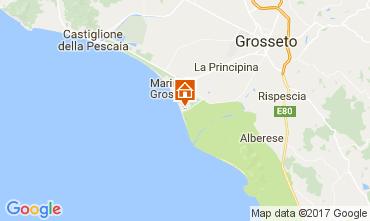 Map Principina a Mare Apartment 108764