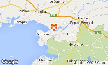 Map Pénestin Mobile home 11803