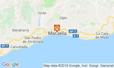 Map Marbella Apartment 118448