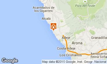 Map Adeje Apartment 55826