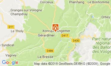 Map Xonrupt Longemer Apartment 113116