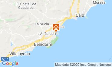 Map Altea Apartment 118159