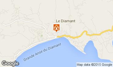 Map Le Diamant Studio apartment 97718