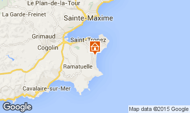 Map Ramatuelle Mobile home 5671
