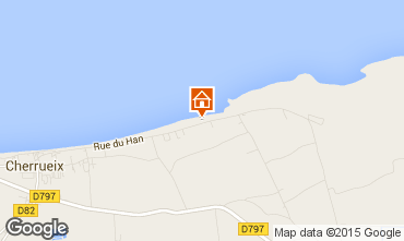 Map Cherrueix Self-catering property 101216