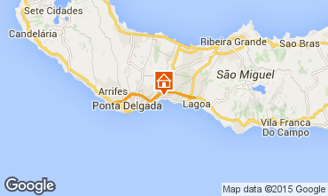 Map Ponta Delgada House 54448