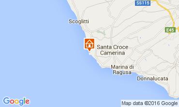 Map Punta Secca Apartment 104749