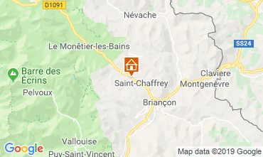 Map Serre Chevalier Apartment 2967