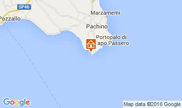 Map Portopalo di Capo Passero Villa 105741