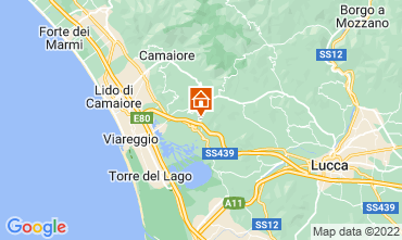 Map Viareggio Apartment 114660