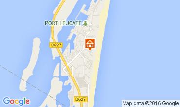 Map Port Leucate Studio apartment 6312