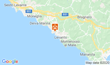 Map Bonassola Apartment 107580