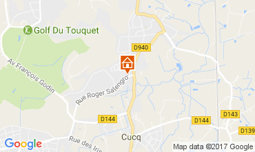 Map Le Touquet House 84445